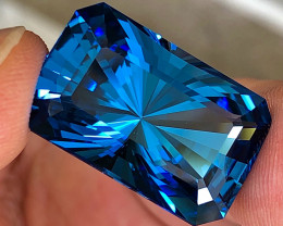 41.66 ct Swiss Blue Topaz With Excellent Luster and Top Colors Gemstone