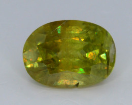 Rainbow Fire 3.20 Ct AAA Brilliance Sphene !GH!