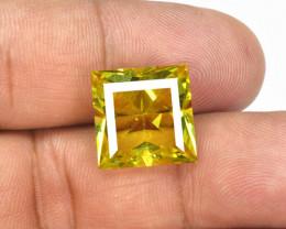 12.13 Cts  Natural Lemon Quartz Gemstonestone
