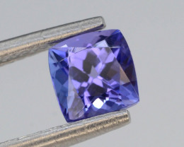 AAA Grade 0.85 ct Tanzanite Eye Catching Color ~ KJ