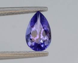 AAA Grade 0.95 ct Tanzanite Eye Catching Color ~ KJ