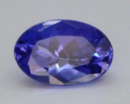AAA Grade 0.65 ct Tanzanite Eye Catching Color ~ KJ