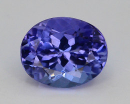AAA Grade 0.80 ct Tanzanite Eye Catching Color ~ KJ