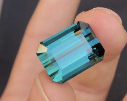 18.70 carat one of best Indicolite Tourmaline From Afghanistan