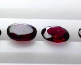 NR!! 6.25 CTs Natural & Unheated~ Purple Garnet Gemstone Lot