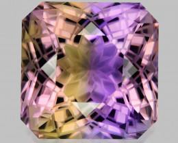 12.26 CT BOLIVIAN AMETRINE TOP CLASS LUSTER GEMSTONE AM2