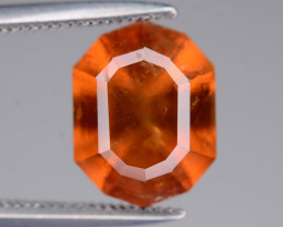 Top Color 3.70 ct  Hessonite Garnet