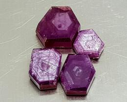 16Crt Trapiche Ruby Unheated Natural Gemstones JI132