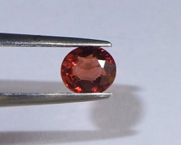 0.7ct clean natural red spinel