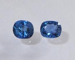 1.73ct unheated blue sapphire