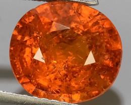 3.90 Cts Unheated Natural Orange Spessartite Garnet Namibia Gem!!