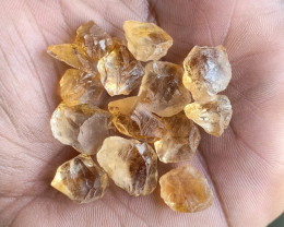 100 Ct Natural Citrine Gemstone Rough Parcel VA3685