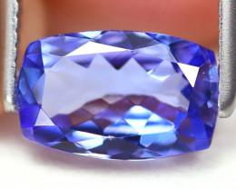 Tanzanite 1.03Ct VS Octagon Cut Natural Purplish Blue Tanzanite B02