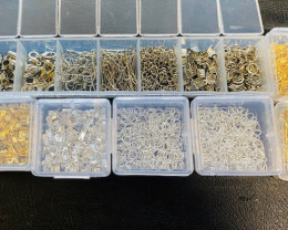 Massive Lot Silver and Gold plated Findings code CCC 1324