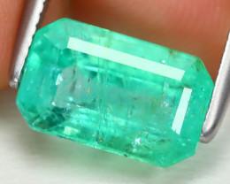 Colombian Emerald 2.21Ct Octagon Cut Natural Green Color Emerald B1606