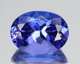 ~AAA Color~ 1.90 Cts Natural Purplish Blue Tanzanite Oval Cut Tanzania