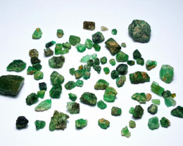 Amazing Natural color Lovely Rough Swat Emerald lot 50CtsGN001
