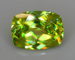 Rare AAA Fire 2.08 ct Chrome Sphene Sku-72