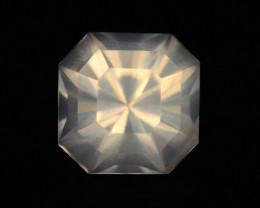 Rare Peach Pink 6.90 ct Feldspar Moonstone~Asscher Cut ~ GAM