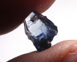 2.40cts Natural Ceylon Blue Sapphire Dogs Tooth Crystal
