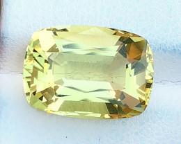 9.15 Ct Natural Yellow Transparent Citrine Gemstone