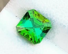 1.30 Ct Natural Greenish Blue Transparent Tourmaline Gemstone