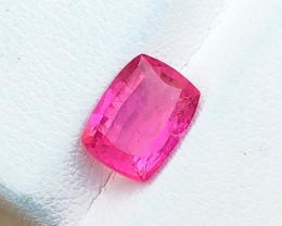 1.95 Ct Natural Pink  Transparent Tourmaline Gemstone