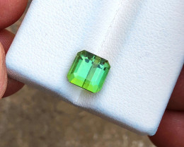 2.30 Ct Natural Green Transparent Tourmaline Gemstone