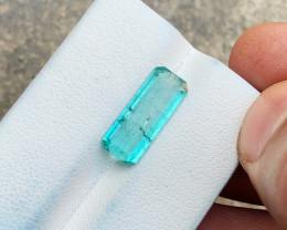 2.90 Ct Natural Blueish Transparent Tourmaline Gemstone
