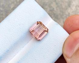 2.70 Ct Natural Pinkish Transparent Tourmaline Gemstone