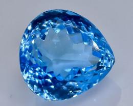 15.32 Crt  Topaz Faceted Gemstone (Rk-60)