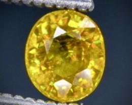 0.58 Crt  Sphene Faceted Gemstone (Rk-60)
