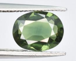 1.27 CTS Green Sapphire Gem