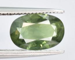 1.39 CTS Green Sapphire Gem