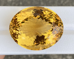 100.7 Cts Natural Citrine Master Piece Amazing Gemstone.