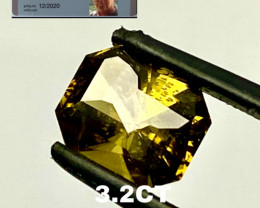3.2CT TOURMALINE I DISCONNECT MY COLLECTION.  AFTER 36 YEARS!