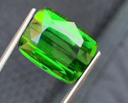 11.35 Carat Transparent  Green color  Tourmaline Gemstones
