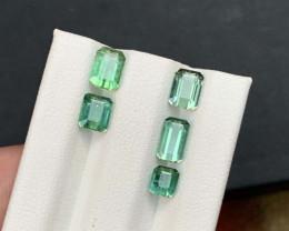 4.40 Carats Bluish Green Color Tourmaline Gemstones