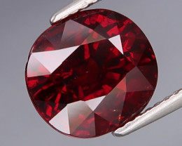 6.03  ct. 100% Natural Earth Mined Red  Spessartite Garnet Africa