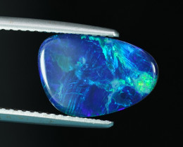 A NEON OCEANIC 2.36CT BRIGHT & INTENSE BLUE & GREEN OPAL $1NR!