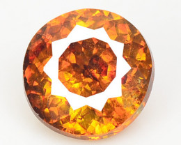 Sphalerite 0.85 Cts Natural Rare Top Rich Fired Sunset Orange Color