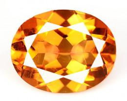 Mystic Quartz 2.19 Cts Rare Fancy Orange Color Natural