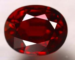 Almandine 4.14Ct Natural Vivid Blood Red Almandine Garnet D1703/B26