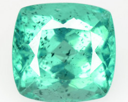 3.32 Cts Un Heated Natural Neon Blue patite Loose Gemstone