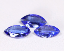 Tanzanite 1.40Ct VS2 Marquise Cut Natural Purplish Blue Tanzanite Lot B244