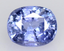 Sapphire 0.81 Cts Very Rare Natural Corn Flower Color Blue Gemstone