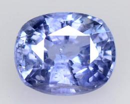0.81 Cts Natural cauliflower Blue  Ceylon Sapphire Gemstone