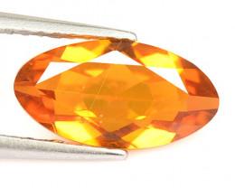 Mystic Quartz 1.44 Cts Rare Fancy Orange Color Natural