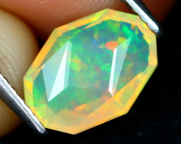 Welo Opal 1.29Ct Master Cut Natural Ethiopian Play Color Welo Opal B1910