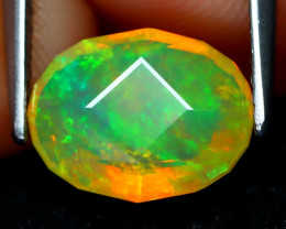 Welo Opal 1.46Ct Master Cut Natural Ethiopian Play Color Welo Opal B1912